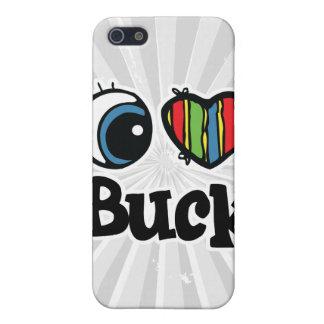 I Heart (Love) Buck iPhone 5 Cover