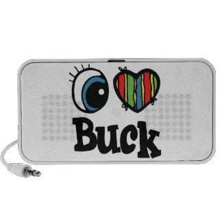 I Heart (Love) Buck Travel Speaker