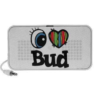 I Heart (Love) Bud Laptop Speaker