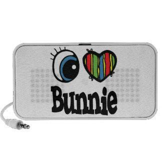 I Heart (Love) Bunnie iPod Speaker