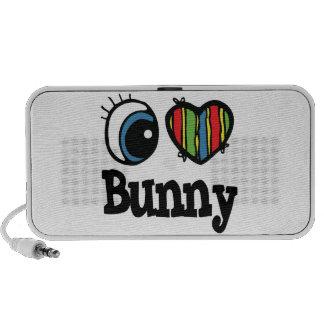 I Heart (Love) Bunny Mp3 Speakers