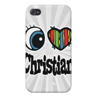 I Heart (Love) Christian iPhone 4/4S Cover