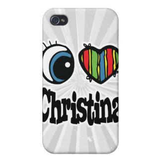 I Heart (Love) Christina iPhone 4/4S Case