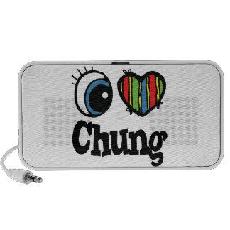 I Heart (Love) Chung Travel Speaker
