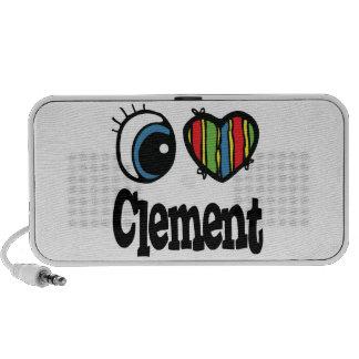 I Heart (Love) Clement iPhone Speaker