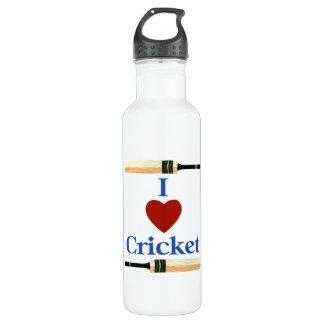 I Heart (Love) Cricket 710 Ml Water Bottle