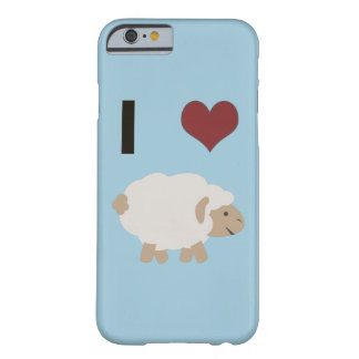 I heart (love) Ewe (you) Barely There iPhone 6 Case