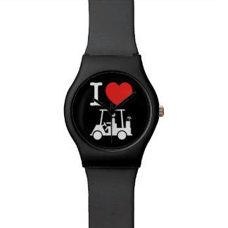 I Heart (Love) Golf Cart Watch