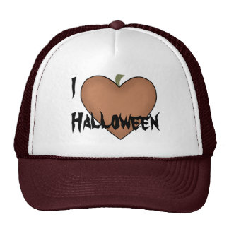 I Heart (Love) Halloween Cap