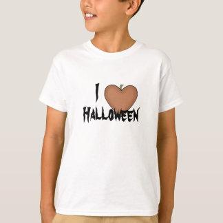 I Heart (Love) Halloween T-shirt