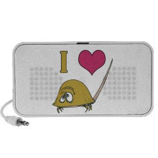 i heart love horseshoe crabs travelling speakers