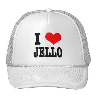 I HEART (LOVE) jello Hats