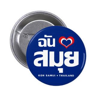 I Heart (Love) Koh Samui ❤ Thailand Pins