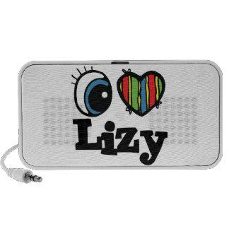 I Heart (Love) Lizy Notebook Speaker