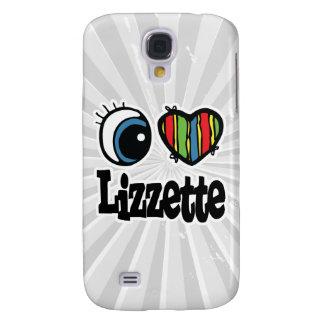 I Heart (Love) Lizzette Galaxy S4 Cover