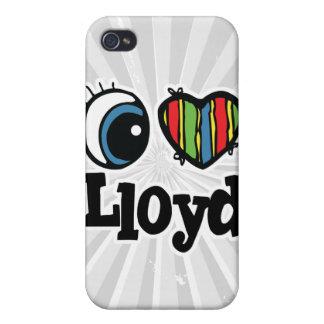 I Heart (Love) Lloyd iPhone 4/4S Cases