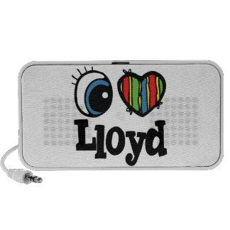 I Heart (Love) Lloyd iPod Speaker