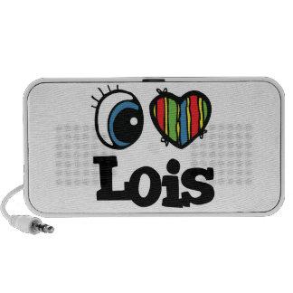 I Heart (Love) Lois Travel Speaker