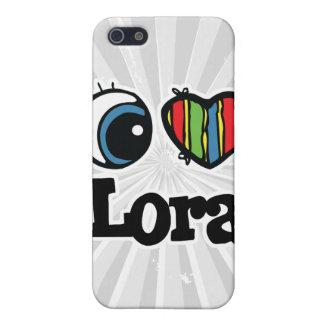 I Heart (Love) Lora iPhone 5 Covers