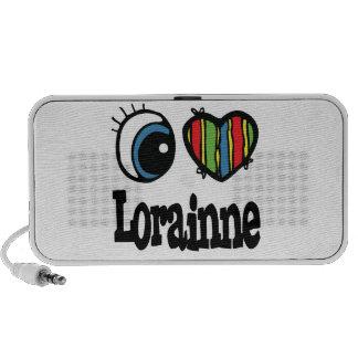 I Heart (Love) Lorianne Mini Speakers