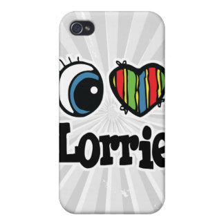 I Heart (Love) Lorrie Cover For iPhone 4