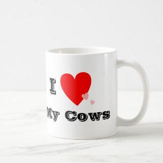 I Heart (Love) My Cows Mug