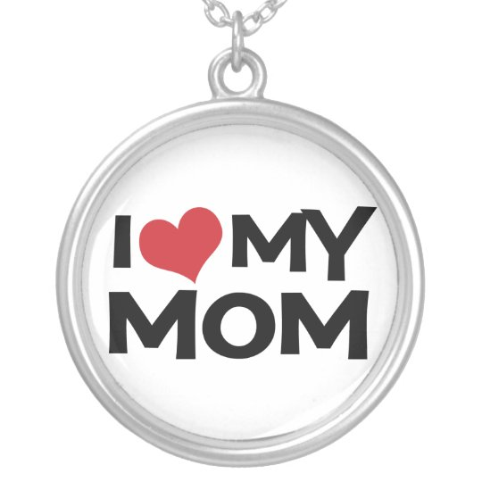 I Heart (love) My Mum Necklace