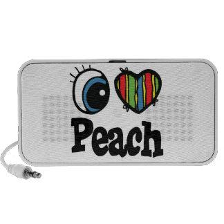 I Heart (Love) Peach Speaker