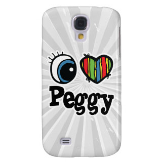 I Heart (Love) Peggy Galaxy S4 Cover