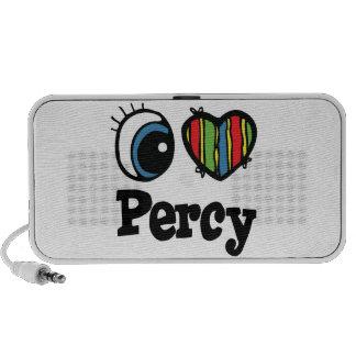 I Heart (Love) Percy Mp3 Speakers