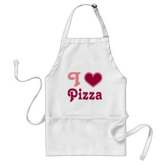 I Heart (Love) Pizza Gift Apron