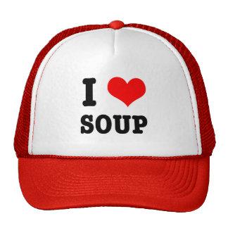 I HEART (LOVE) SOUP CAP
