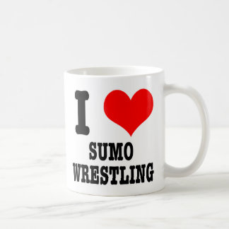 I HEART (LOVE) sumo wrestling Coffee Mug