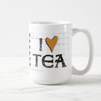 i heart (love) Tea Large Mug
