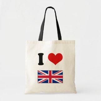 I Heart Love UK Union Jack Flag