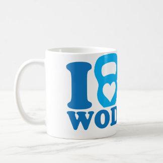 I Heart (Love) WOD - CrossFit Mug