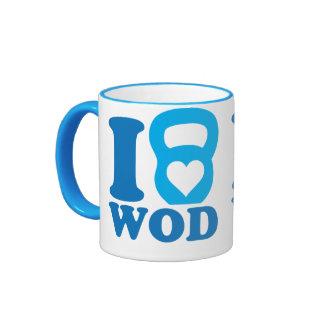 I Heart (Love) WOD - CrossFit Mugs