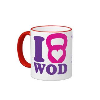 I Heart (Love) WOD - CrossFit Coffee Mug