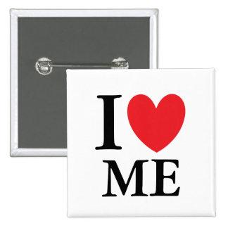 I Heart Maine 15 Cm Square Badge