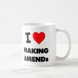 I Heart Making Amends Basic White Mug