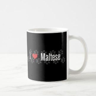 I (heart) Maltese Coffee Mug