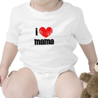 I heart mama infant bodysuit   Vintage snapsuits