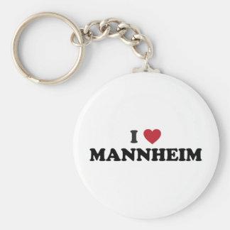 I Heart mannheim germany Key Ring