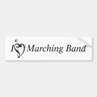 I Heart Marching Band Bumper Sticker