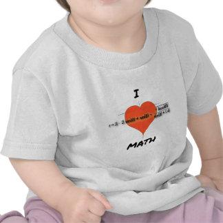 I Heart Math Equation Tees