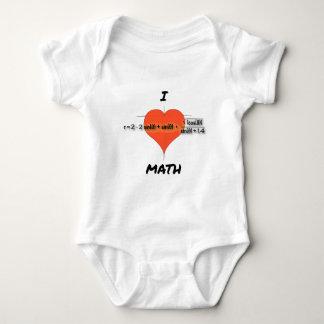 I Heart Math Equation Tshirts