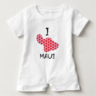 I heart Maui Baby Bodysuit