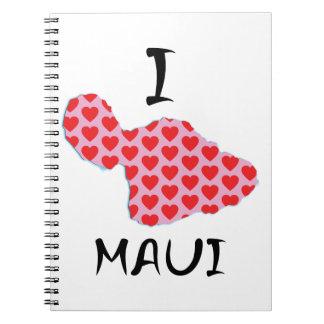 I heart Maui Notebook