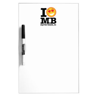 I (Heart) MB Dry Erase Board