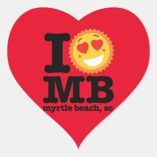 I (Heart) MB Heart Sticker